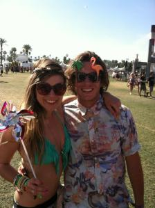 One of our fav new festival friends J! and Kora