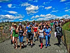 The long walk into Sasquatch
