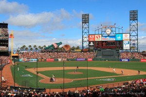 SF Giants Opening Day 2013
