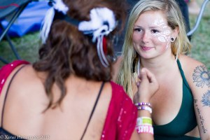 Festival Prep. Courtesy of Xavier Walker Photography