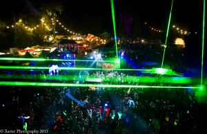 View from the top of the Pagoda Stage. Courtesy of Xavier Walker Photography
