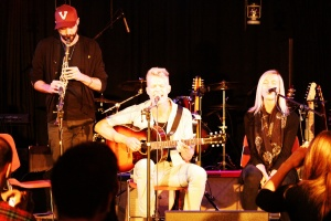 Jeremy Page, Ryan and Molly Guldemond of Mother Mother
