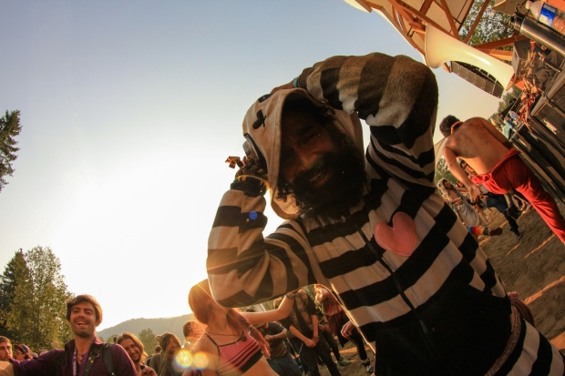 This guy won Shambhala. Onsie.