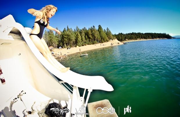 Water Slindin' at its finest! #BettyOnFire  Photo Cred: Cody Simon