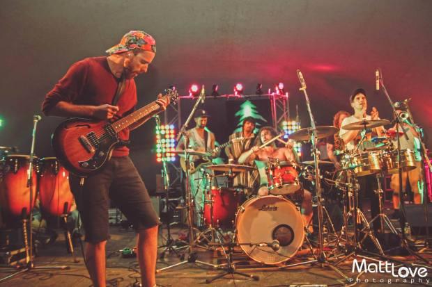 Five Alarm Funk @ Tall Tree 2015. Photo Cred: The Real Matt Love