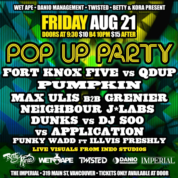 Pop Up Party4D