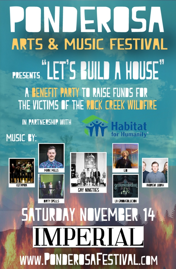 Lets build a house- poster web copy