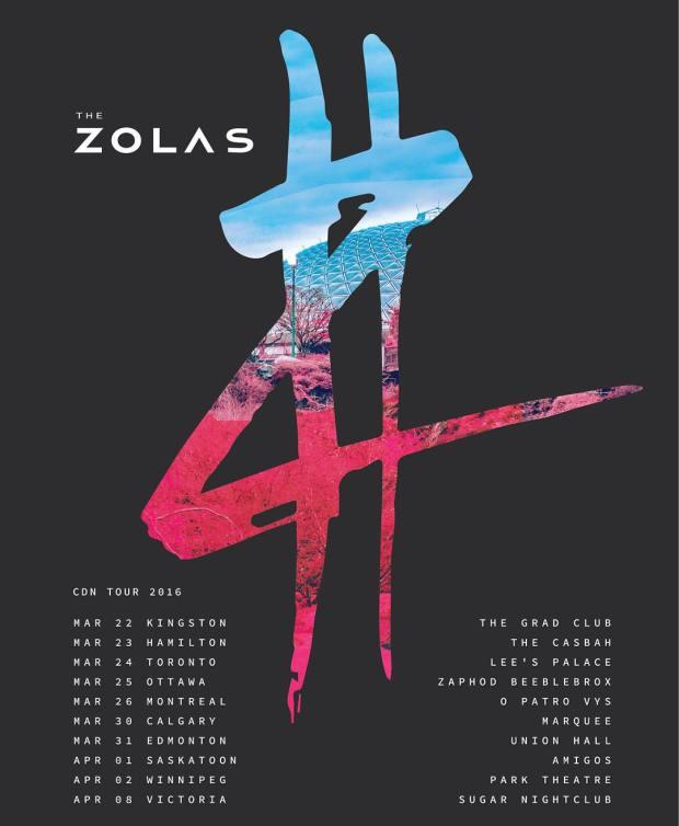 zolas canadian tour 2016