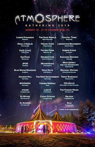 Atmosphere Artist List2016